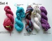 Mini sock yarn skein set