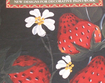 Kate Coombe  Milner Craft Book Series Folk Art and Tole Painting How to book  Kate Coombe Designs and patterns, DIY Crafts