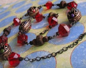 Sassy Red Necklace