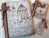 OOAK Collaged Composition Journal Set