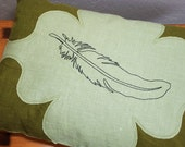 Sleeping on Wings: Lavender and Buckwheat Pillow