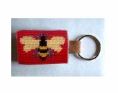 Mellie Honey Bee Key Fob