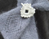Gray Lace Scarf - so Pleasant and Flattering
