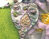 Spell Cast Gems(tm) Leaf Pendant and Pendulum-Tolkien Elven Magic Jewelry-PIPPIN PEREGRIN TOOK-Celtic-Druid-Fairy/ Fae Wicca-Pagan