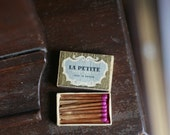 Vintage La Petite Swedish Luxury Matches