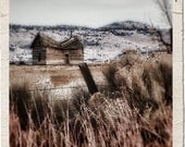Instant Download Digital Download Photograph Vintage Cabin Willow Creek Pinhole Landscape Commercial Use