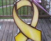 Yellow Ribbon Suncatcher