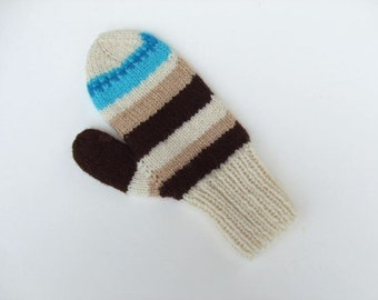 Hand Knit Mittens - Twilight - for Adults/Teens