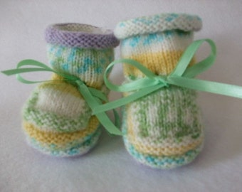 Baby Booties - Little Ducks - Why I Made Them