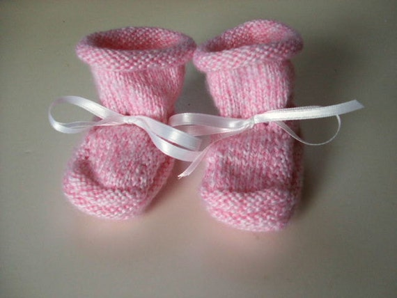 Handknit Baby Booties - Sweet as Sugar and Spice and Why I Made Them
