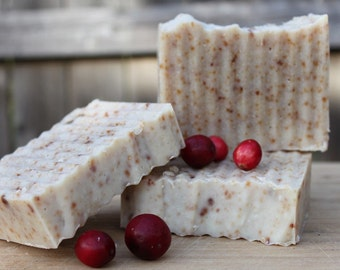 Cranberry Fig Cold Process Soap LIMITED