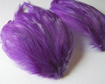 2 LAVENDER Feather Pads