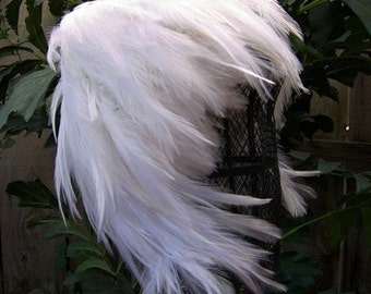 SNOW WHITE Feather Wig Trend Photography Costume