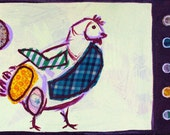 SALE: Meat chicken postcard (Orig. 2.50)