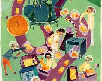 Tillamook Cheese Factory: Print
