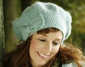 Beautiful in Beret Turquoise