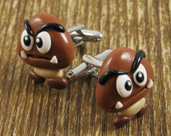 Tiny Goomba Cufflinks