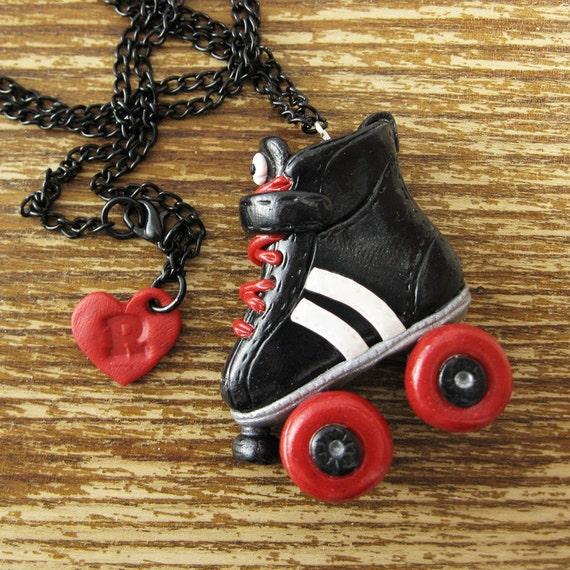 Derby Roller Skate Necklace