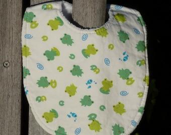 Baby Bib - Frogger (#150)