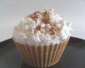 New Cinnabun Cupcake soap