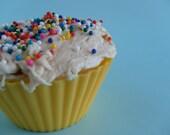 Vanilla Buttercream Shea Butter Cupcake soap