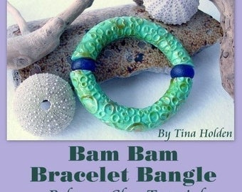 BAM BAM it's done Bracelet - All levels - Polymer Clay Tutorial- Digital PDF file - Instant Download