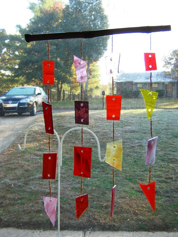 The Sunset Glass Wind Chime