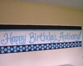 Personalized Birthday Party Banners  Handpainted, Original, Fun