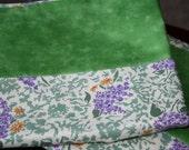 Pillowcases, Cotton-Lilac Sprays-Set of 2