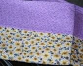 Pillowcases, cotton- Delicate floral -set of 2