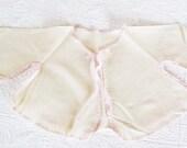 Vintage Baby Girl's Bed Jacket