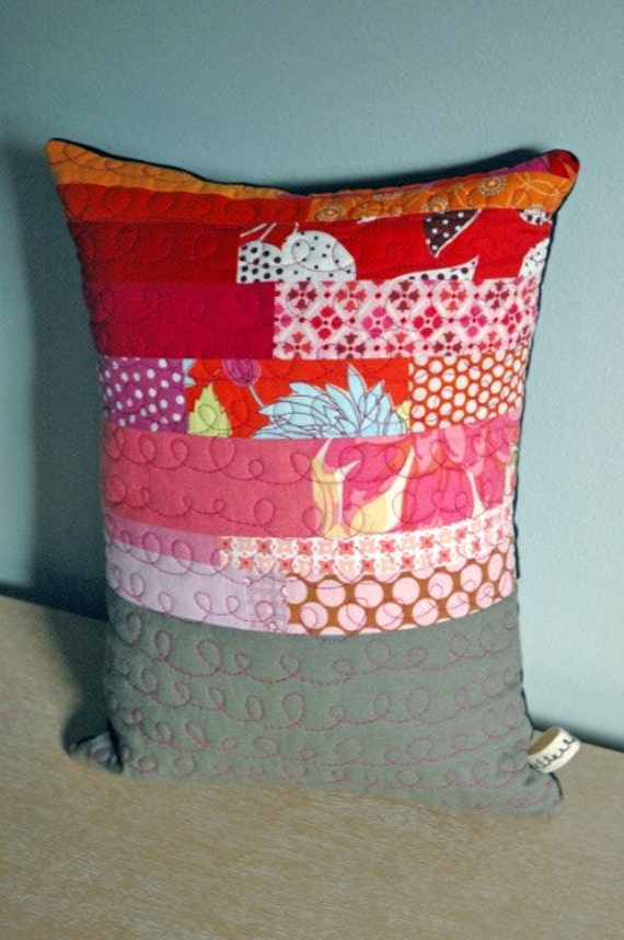 Modern Patchwork Pillow : modern patchwork pillow 17