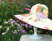 Vintage Floral Sunhat
