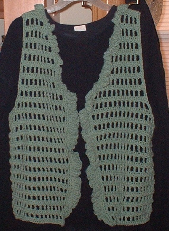 Open Sweater Vest