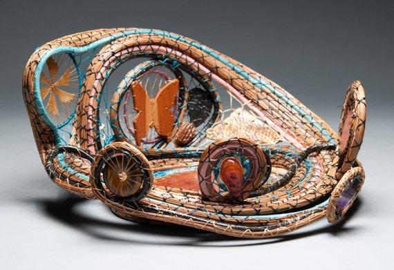 Flights of Fancy Art Basket