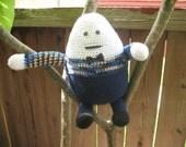 PDF Crochet Pattern - Mister Humpty Dumpty