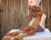PDF Crochet Pattern - The Tree Scarf