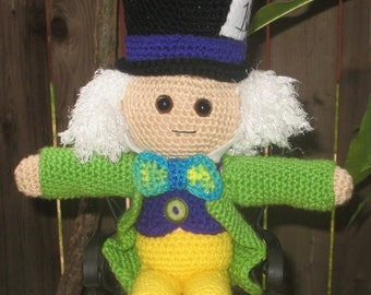 PDF Crochet Pattern - The Mad Hatter