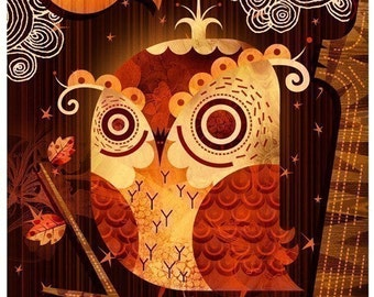 The Enamored Owl