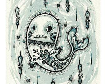 Skeletoon 02 (8.5 X 11)