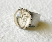 Vintage Anatomy Anatomical Ring - Pick from lungs, brain, bones, spine, etc