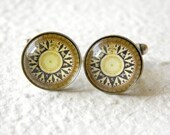 Antique Compass 1- Men's or Unisex Cufflinks
