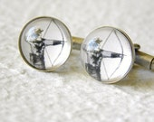The Archer - Bow and Arrow Cuff Link Set