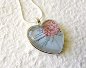 Cape Town Map Necklace - Cape Town, South Africa - Custom map jewelry