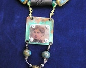 TURN OF THE CENTURY LADY NECKLACE