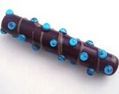 Speckles - Handmade Lampwork Focal Bead