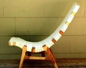 Sale ----  Birch Plywood Lounge Chair