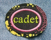 Custom CADET patch for mytwokatzgirls.