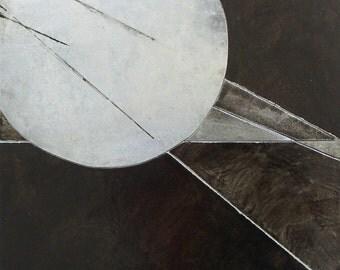 Voyager 2 Etched metal original artwork