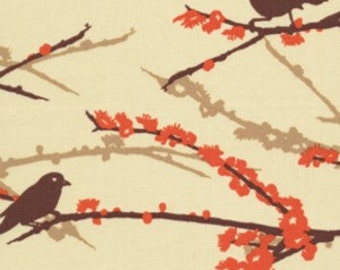 Joel Dewberry, Aviary 2, Sparrows in Bark, 1 Yard, Buy More and Save
